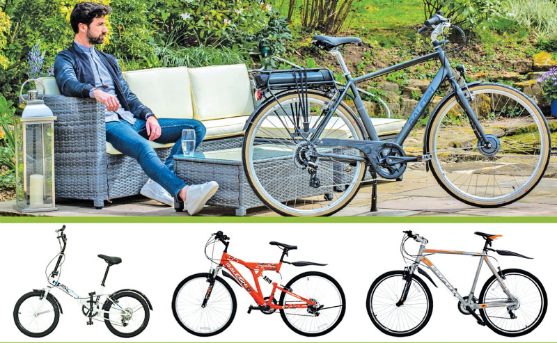 Raleigh bicycles from Abans   Daily News