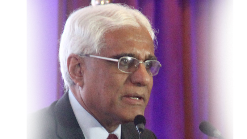 Central Bank Governor Dr. Indrajit Coomaraswamy Picture by Chaminda Niroshana