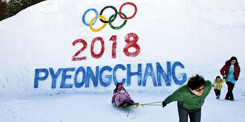 The Pyeongchang Winter Olympics takes place from February 9 to 25, 2018. - AFP