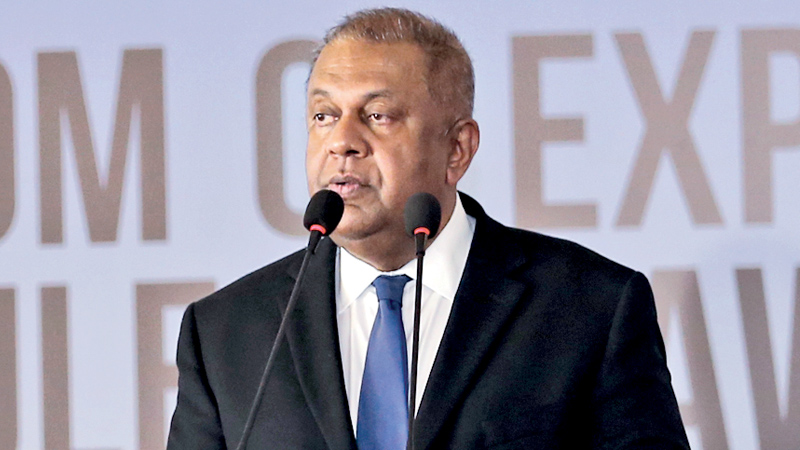 Finance and Mass Media Minister Mangala Samaraweera