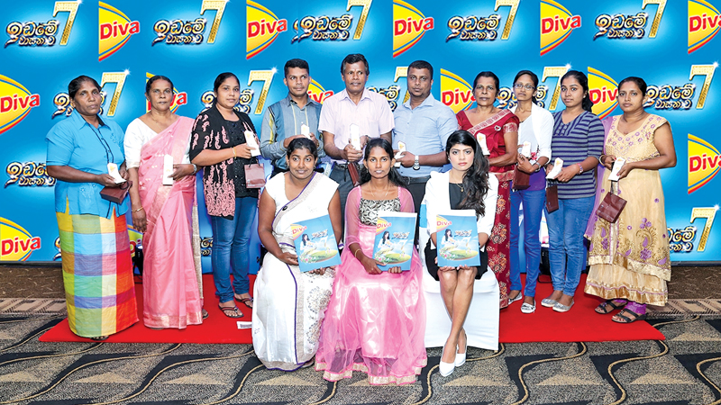 'Diva IdameVasanawa' and gold coin winners.