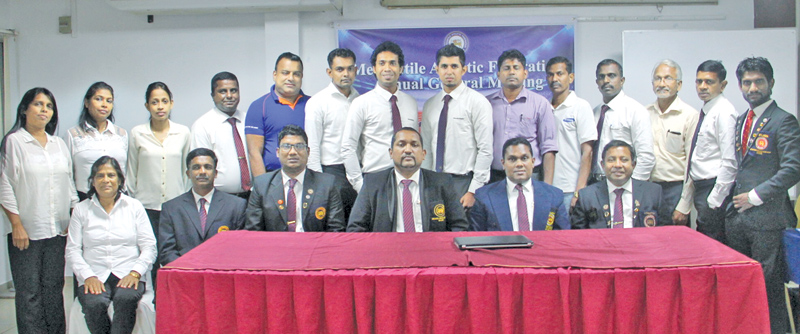 The Office Bearers who were elected at the Annual General Meeting of the Mercantile Athletic Federation