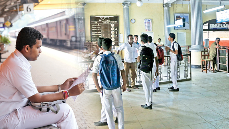 The train strike which continued for the sixth day yesterday caused great inconvenience to students who sat for their crucial GCE Ordinary Level examination yesterday. Students who used trains to travel to their schools had to use alternative transport and leave home as early as possible to reach exam centres in time. Around 680,000 students are sitting for OL exams which began yesterday. Striking railway trade union members may have genuine grievances, but is risking children's future the right thing to do