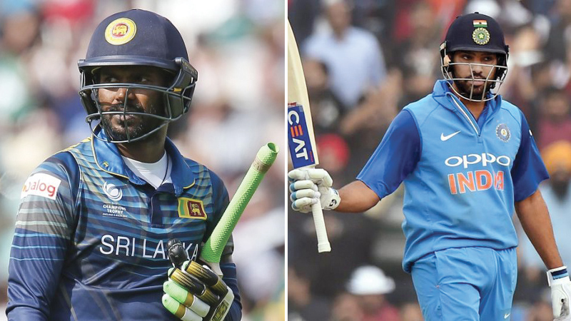Upul Tharanga and Rohit Sharma
