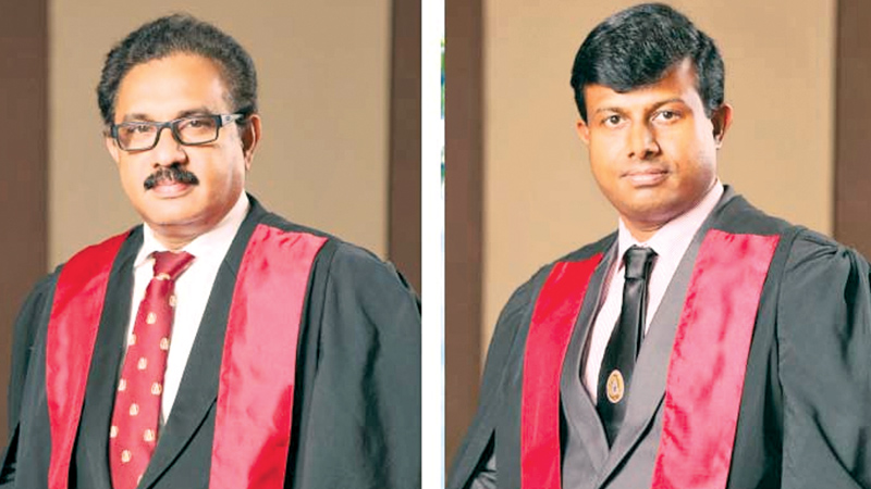 Consultant Surgeon Dr. Mahanama Gunasekara and Consultant Surgeon Dr. Samira Jayasinghe