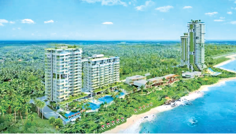 Dusit Thani's The Beachfront Balapitiya apartment complex targeting expat buyers