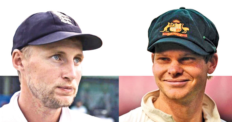 England captain Joe Root and Australian captain Steve Smith