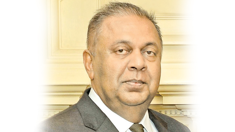 FINANCE AND MEDIA MINISTER MANGALA SAMARAWEERA