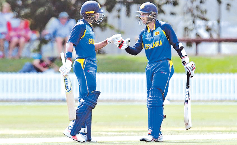 A double-century opening stand between Dhananjaya Lakshan and Hasitha Boyagoda seemed to have settled the game for Sri Lanka until the remarkable collapse.