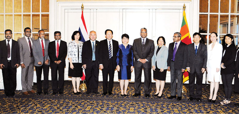 The Thai and Sri Lankan delegations at this year's meeting.