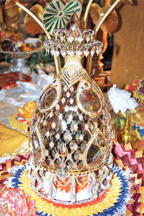 The Sacred Relics from Sarnath.