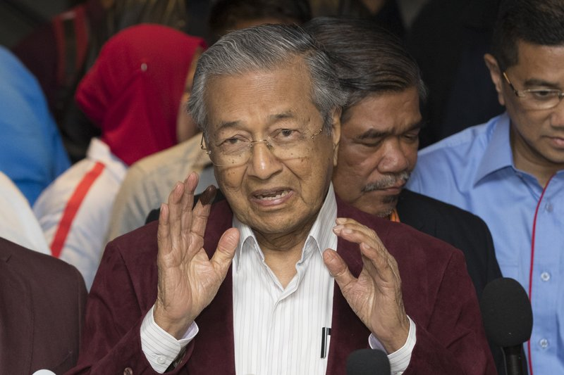 Opposition win ends Malaysia party's 60-year hold on power