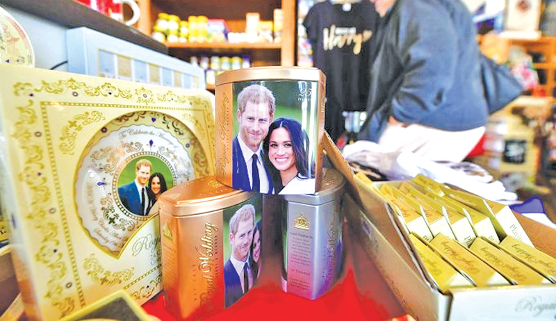 The royal wedding is a moment of light relief for a Britain weighed down by political, social and economic woes. - AFP