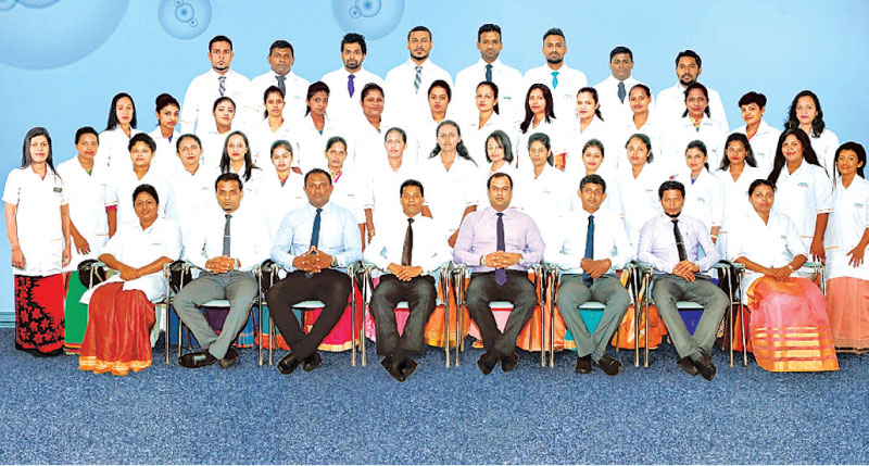 Hemas Hospital Thalawathugoda Laboratory team