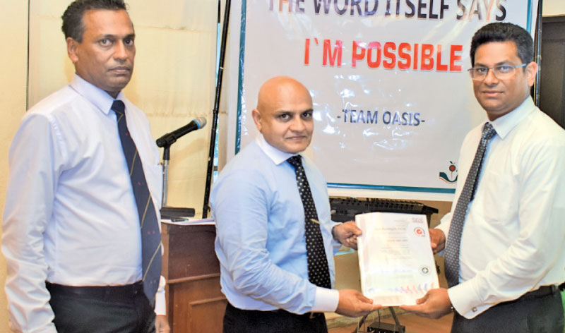 Oasis Marketing gets three ISO certifications | Daily News