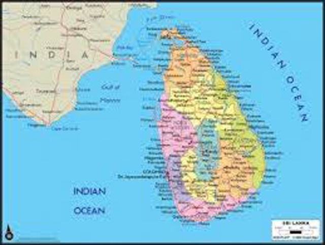 New Sri Lankan map released today | Daily News