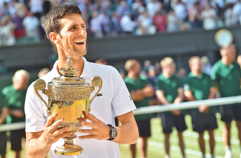65a17aa67240a Djokovic wins fourth Wimbledon title and 13th major | Daily News