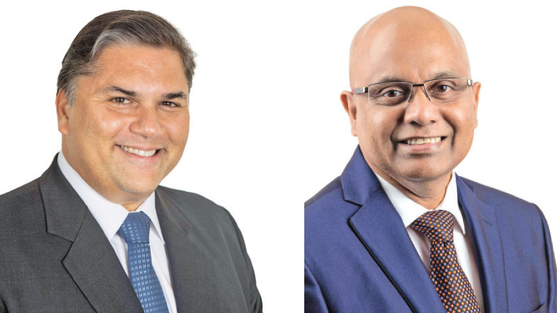 Sanjeev Gardiner Chairman, Ambeon Capital and Murali Prakash, Group Managing Director, CEO, Ambeon Capital and Ambeon Holdings