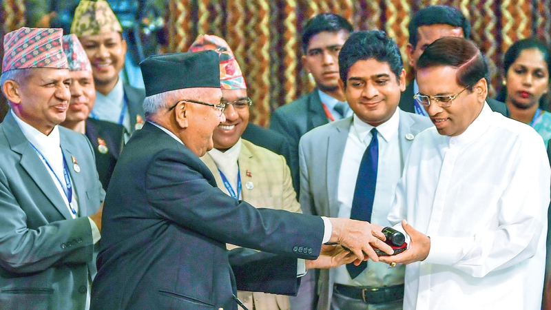 BIMSTEC Chairmanship handed over to President | Daily News