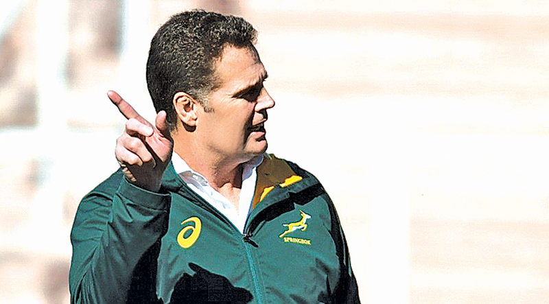 Under-pressure Erasmus described Saturday's game as the 'ultimate test' of his 6-month stewardship of the Springboks