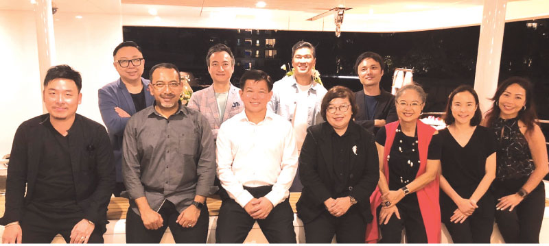 Astley Ng (Singapore); Horace Pan (Hong Kong); Michael Pizarro (Philippines); ArKazumaYamao (Japan), Keat Ong (Singapore & China); ArEzumi Ismail (Malaysia); Wee Siew Kim, Chief Executive Officer of NIPSEA Group; MsLea Avilani Aziz (Indonesia); Vipavadee Patpongpibul (Thailand); ArSiritip Harntaweewongsa (Thailand) and Teri Choong, Director of Corporate Affairs of NIPSEA Group.