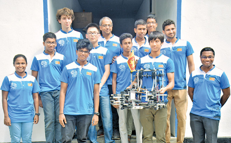 Members of Team Sri Lanka who took part in First Global Challenge  (FGC) 2018