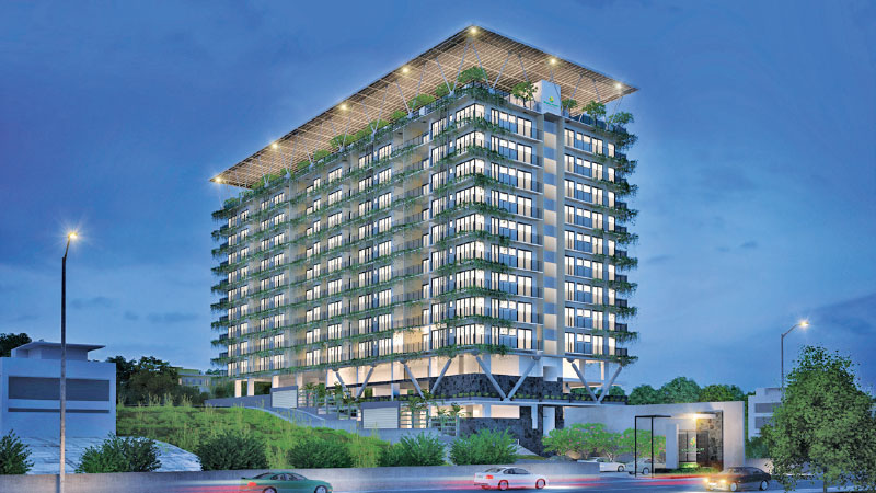 Excel Court Launches Lanka S First Fully Sustainable Apartment Complex