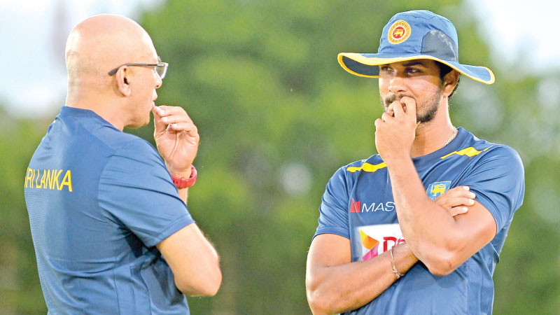 There are more questions than answers for Sri Lanka head coach Chandika Hathurusingha and captain Dinesh Chandimal on team composition as the World Cup fast approaches. - AFP