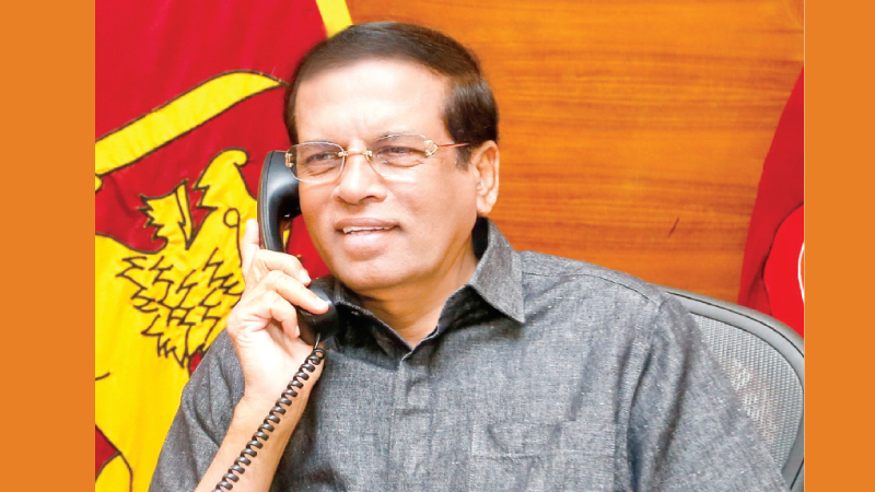 Sri Lankan President calls PM Modi, rejects reports on 'RAW assassination plot'