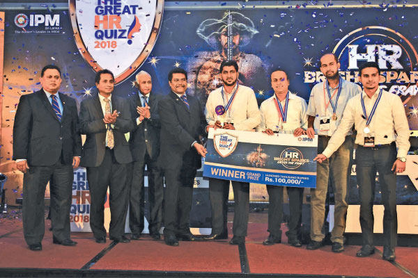 Dialog Axiata wins IPM Great HR Quiz 2018 Overall Champions trophy