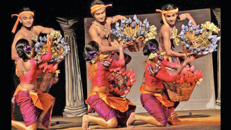The Olu dance item which he choreographer for Kavitha 2014