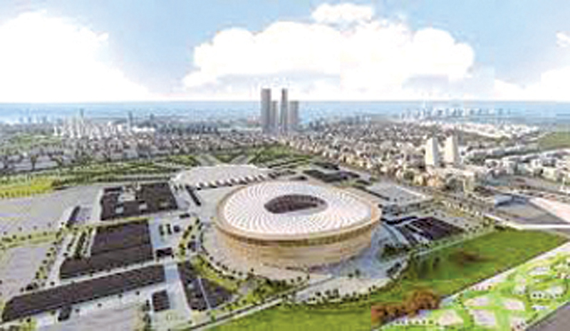 Qatar unveiled the design plan for the 2022 World Cup final stadium