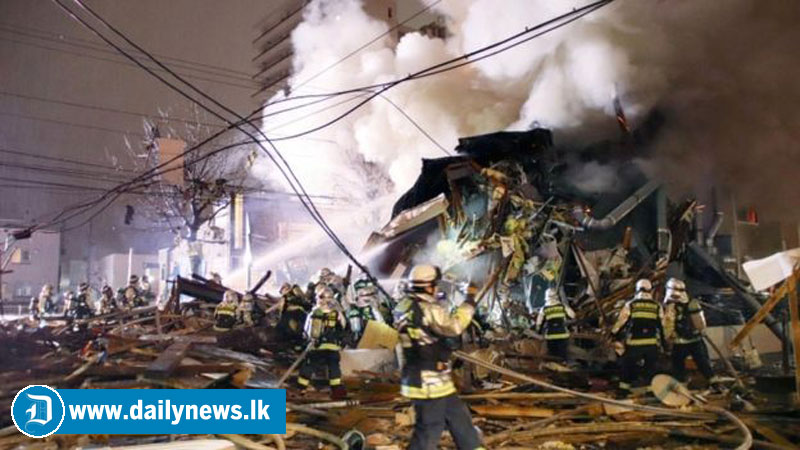 Powerful explosion at restaurant injures 42, surrounding buildings collapse