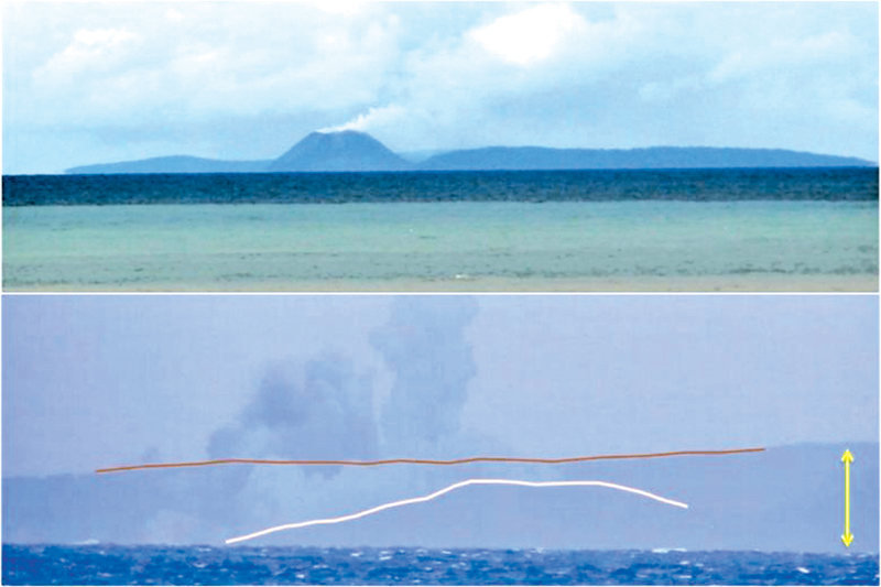 Before-and-After Pics Show Dramatic Collapse Of Tsunami-Causing Volcano In Indonesia
