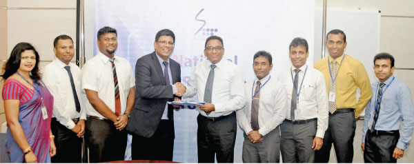 Participants from Blue Ocean Group and SLT at the agreement signing from left to right include: Chithra Kumari Wijesuriya, Senior Executive Assistant Manager /SLT, G. Mayuran, IT Engineer/Blue Ocean, K. Nimeshnan, Chief IT Engineer / Blue Ocean, S. Thumilan, Chairman/Blue Ocean, Kiththi Perera, CEO/SLT, Imantha Wijekoon, Chief Sales Officer /SLT,  Lakmal Jayasinghe, GM /SLT, Chethana Attanayake, GM/SLT and Kelum Priyantha, Manager, SLT
