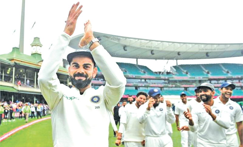 Kohli has become the first Indian captain to win a Test series in Australia.