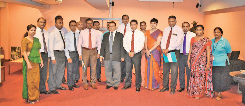 The Chairman of SLIC Dr. K. A. S. Keeragala, Chief Executive Officer Chandana L. Aluthgama, Chief Officer Business Development Rukman Weerarathna, Chief Officer General Insurance Ms. Ruanthi Gooneratne, DGM - Marketing  Namalee A. Silva, DGM - Motor Lalith De Silva and the President of Government Nursing Officers' Association Saman Rathnapriya,Secretary Nalaka Hettiarchchi, Treasurer D.J.S Wimalasiri were presented at the occasion.