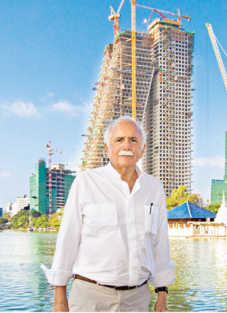 Moshe Safdie and the Altair building in Colombo