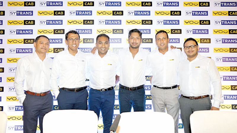 Samantha Bombuwalage, COO - SyTrans, Janaka Udamulla, Director - VirTrans Capital, Kumar Sangakkara, Partner - VirTrans Capital, Mahela Jayawardena - Partner Virtrans Capital, Nirthaj Seelanatha - Director Virtrans Capital, Thushan Jayaratne, COO - You Cab.