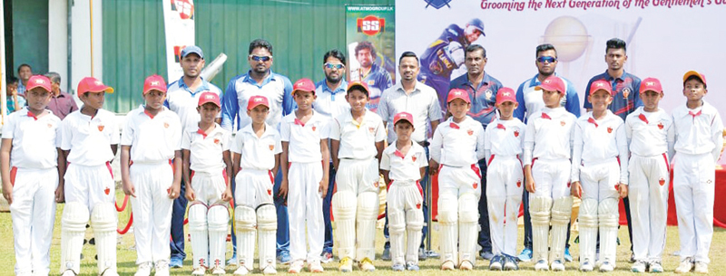 The champion SSC Blues Under 11 team.