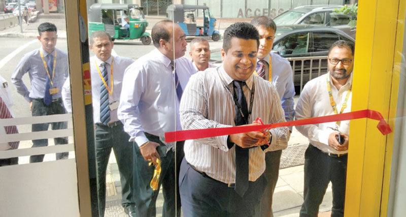 Official opening of the express centre by the Country Manager including the Senior Management team.