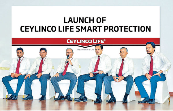 Ceylinco Life Managing Director and CEO Thushara Ranasinghe and members of the Product Development Team at the launch.