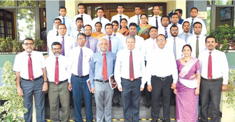 Prof Ajantha S. Dharmasiri, Director, PIM, Faculty Members, PIM, Senior Officials  and participants of the Central Finance.