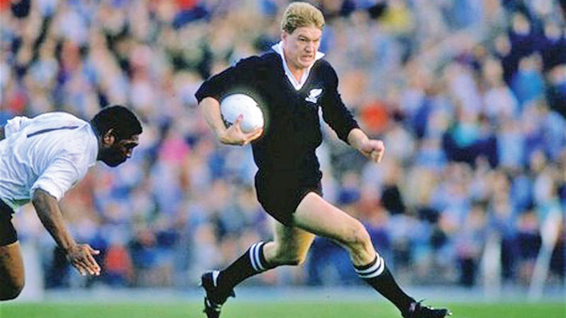 John Kirwan scored probably the greatest try in World Cup history against Italy in the inaugural World Cup, ultimately won by the All Blacks. Picking up the ball in his own half, Kirwan ran the length of the pitch, beating nine defenders to touch down.