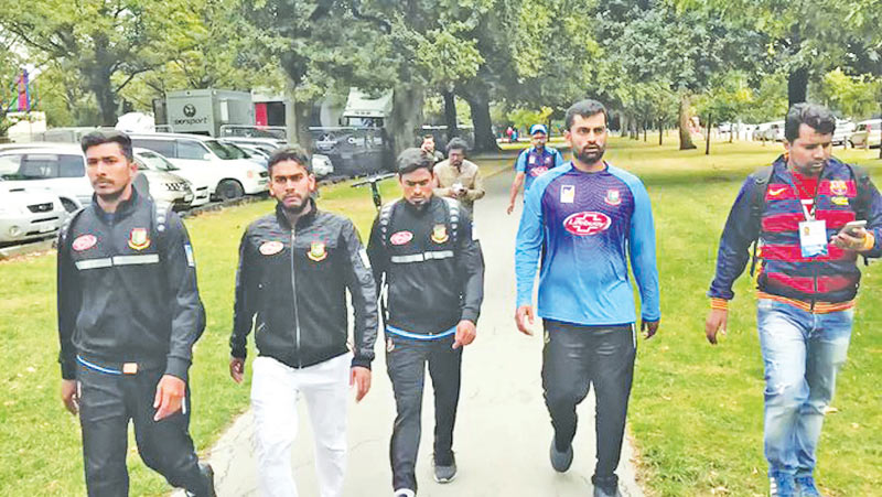 The Bangladesh team was enroute to the mosque for Friday prayers at the time of the attacks.