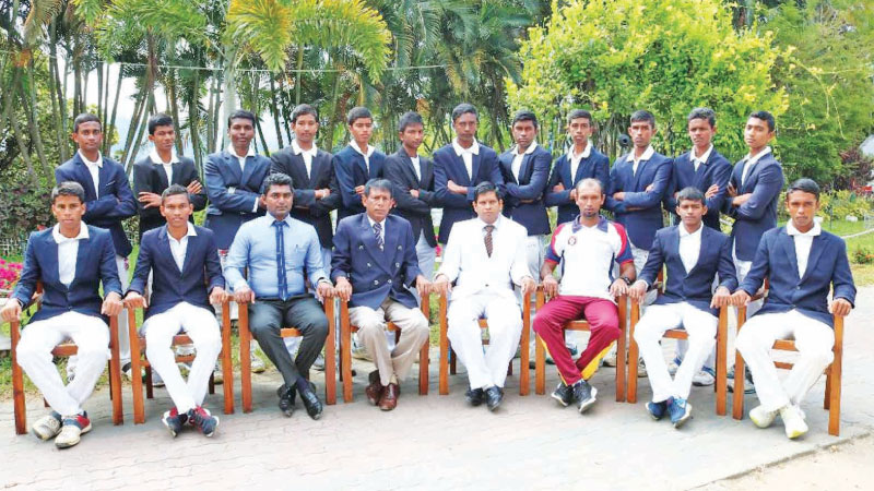 Sri Rahula College squad cricket team