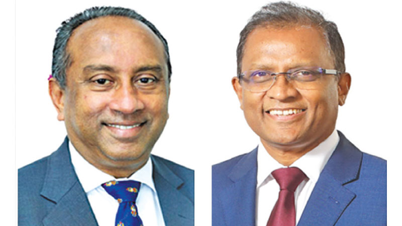 Chairman, Ronald Perera and CEO, Senarath Bandara