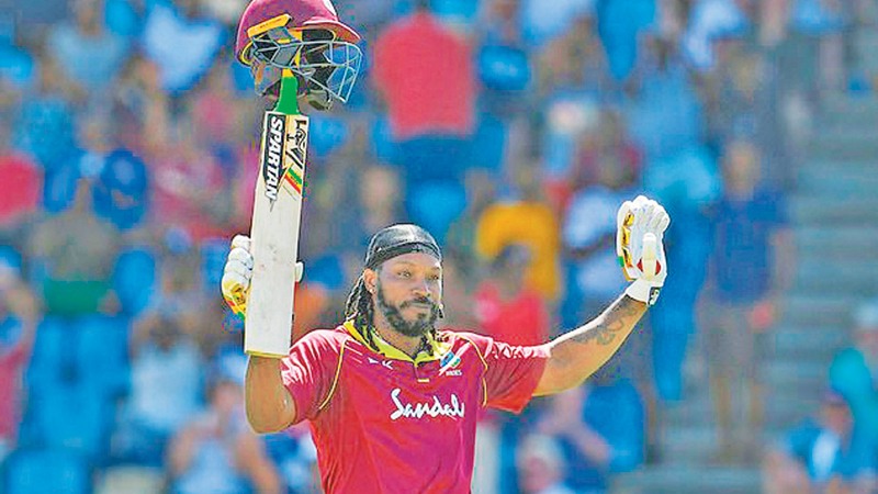39-year-old Windies star Chris Gayle is as destructive as ever ahead of the World Cup