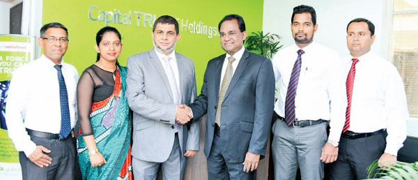 Susantha Bandara - Head of Drivers , Dilusha Muthugoda - Head of  Operations, Hanif Ibrahim - Chairman/ MD of Airport Travels Holdings , Tushan Wickramasinghe - Chairman/ CEO of Capital TRUST Mobility Solutions (Pvt) Ltd, Rasika  Vidanalage - Chief Operating Officer and Asanka Perera - Head of Marketing & Corporates