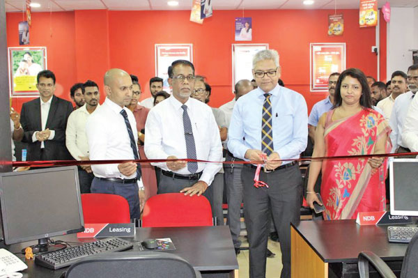 NDB Leasing Centers opening in Negombo